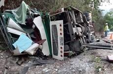 Dos vietnamitas fallecen en accidente de autobús en Laos
