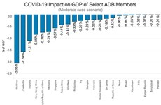 Vietnam perderá 0,41 por ciento del PIB debido a COVID-19, según BAD
