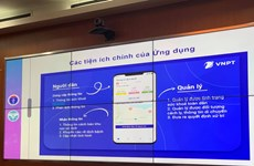 Lanzan aplicaciones de prevención de COVID-19 y ayuda al aprendizaje en Vietnam