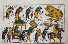 Aspira Vietnam a incluir el género de pintura popular Dong Ho en lista de patrimonio