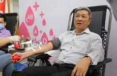 Ministerio de Salud de Vietnam convoca donación de sangre entre trabajadores