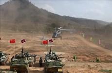 Fuerzas armadas de Camboya y China realizan ejercicio conjunto