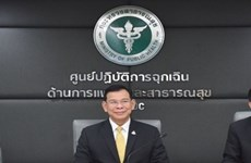 Advierte Tailandia sobre la propagación de COVID-19 a través de consumo compartido de tabaco y bebidas