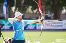 Vietnam cosecha tres oros en campeonato asiático de tiro con arco