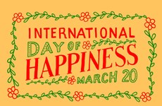 Celebrará provincia vietnamita Día Internacional de Felicidad