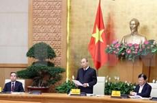 Insta premier de Vietnam a garantizar seguridad alimentaria en cualquier situación