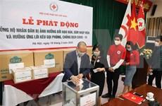 Cruz Roja de Vietnam llama a apoyar a pobladores afectados por sequía y la lucha contra el COVID-19
