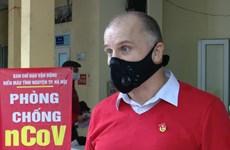 Extranjero residente en Vietnam promueve donación de sangre