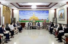Vietnam felicita a Laos por el 65 aniversario de la fundación del Partido Popular Revolucionario