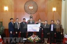 Honda Vietnam entrega donación al fondo de prevención del COVID-19