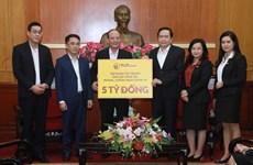 Más de 12 millones de dólares recaudados para apoyar la lucha contra el coronavirus en Vietnam