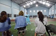 Laboratorio de Quang Ninh permitido para confirmar casos contagiados por COVID-19
