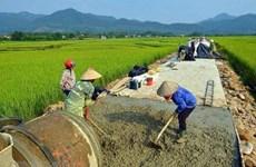 Avanzan distritos de Hanoi en la construcción de nuevas zonas rurales