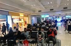 Aeropuerto vietnamita de Noi Bai recibe a más de 270 retornados