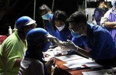 Jóvenes de provincia vietnamita apoyan lucha contra SARS-CoV-2