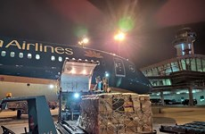 Vietnam Airlines llevará gratis a Hanoi equipos contra coronavirus
