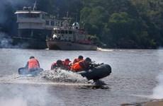 China, Laos, Myanmar y Tailandia realizan patrulla conjunta en río Mekong