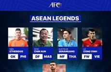 Delantero vietnamita exaltado entre cinco leyendas del fútbol en Asia