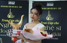 """Anuncian los ganadores de premios musicales """"Cong Hien"""" de VNA"""