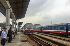Suspenden varios itinerarios de trenes en Vietnam por COVID-19