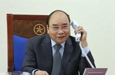 Premier vietnamita mantiene conversaciones telefónicas con homólogos de Laos y Camboya