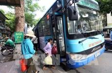 Reduce Hanoi el 80 por ciento de los viajes en autobús