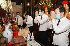 Rinden homenaje a los padres mitológicos de la nación vietnamita