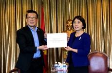 Singapur otorga 10 equipos de ventilación mecánica a Vietnam