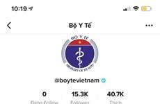 Activa Ministerio de Salud de Vietnam cuenta en Tiktok para estimular combate contra COVID-19