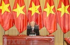 Llama máximo dirigente de Vietnam a unidad nacional en enfrentamiento al COVID-19