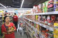 En curva descendente índice de precios al consumidor de Hanoi