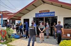 Prisioneros escapan tras disturbios en cárcel de Tailandia