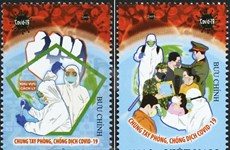 Vietnam busca elevar conciencia pública sobre el coronavirus con la emisión de sellos