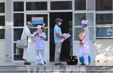 Pacientes de COVID-19 reciben alta médica en provincia vietnamita