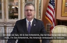 Embajador estadounidense valora combate contra el COVID-19 de Vietnam