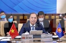 ASEAN y Estados Unidos por intensificar coordinación en lucha contra COVID-19