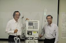 Empresa japonesa producirá ventiladores mecánicos para Vietnam
