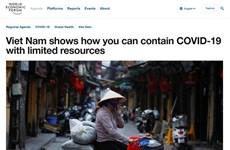"Resalta FEM a Vietnam como ""faro"" en lucha contra COVID-19"