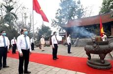 Conmemoran en Vietnam a los Reyes Hung