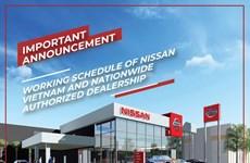 Nissan Vietnam suspende la operación