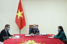 Abogan Vietnam y Corea el Sur por cooperación internacional en enfrentamiento a COVID-19