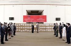 Aprecian respaldo de Vietnam a Laos en combate contra COVID-19
