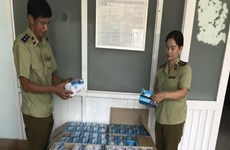 Camboya incauta gran número de artículos  de higiene falsos