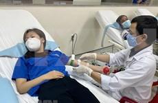 Atletas vietnamitas se suman a campaña de donación de sangre