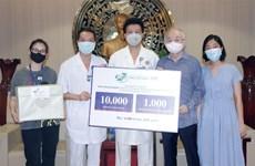 Hospital vietnamita ayuda a socio alemán en el combae contra el COVID-19