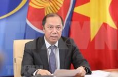 Cancilleres de ASEAN acuerdan establecer fondo de respuesta al COVID-19