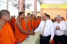 Felicita premier vietnamita a comunidad khmer en ocasión de fiesta del año nuevo Chol Chnam Thmay