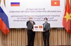 Ofrece Vietnam mascarillas sanitarias a Rusia