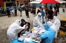 Pautas urgentes sobre inversión en pruebas de COVID-19 en localidades vietnamitas
