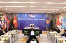 ASEAN emite declaración de cumbre especial sobre COVID- 19
